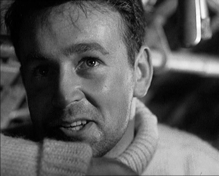 William Russell in Above Us the Waves (1955)