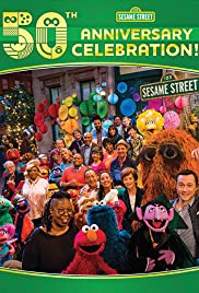 Sesame Street's 50th Anniversary Celebration Poster