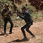 Jorge A. Jimenez and Quetzalli Cortés in S.O.Z: Soldados o Zombies (2021)
