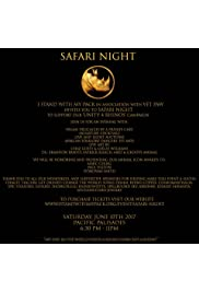 Unity for Rhinos: Safari Night