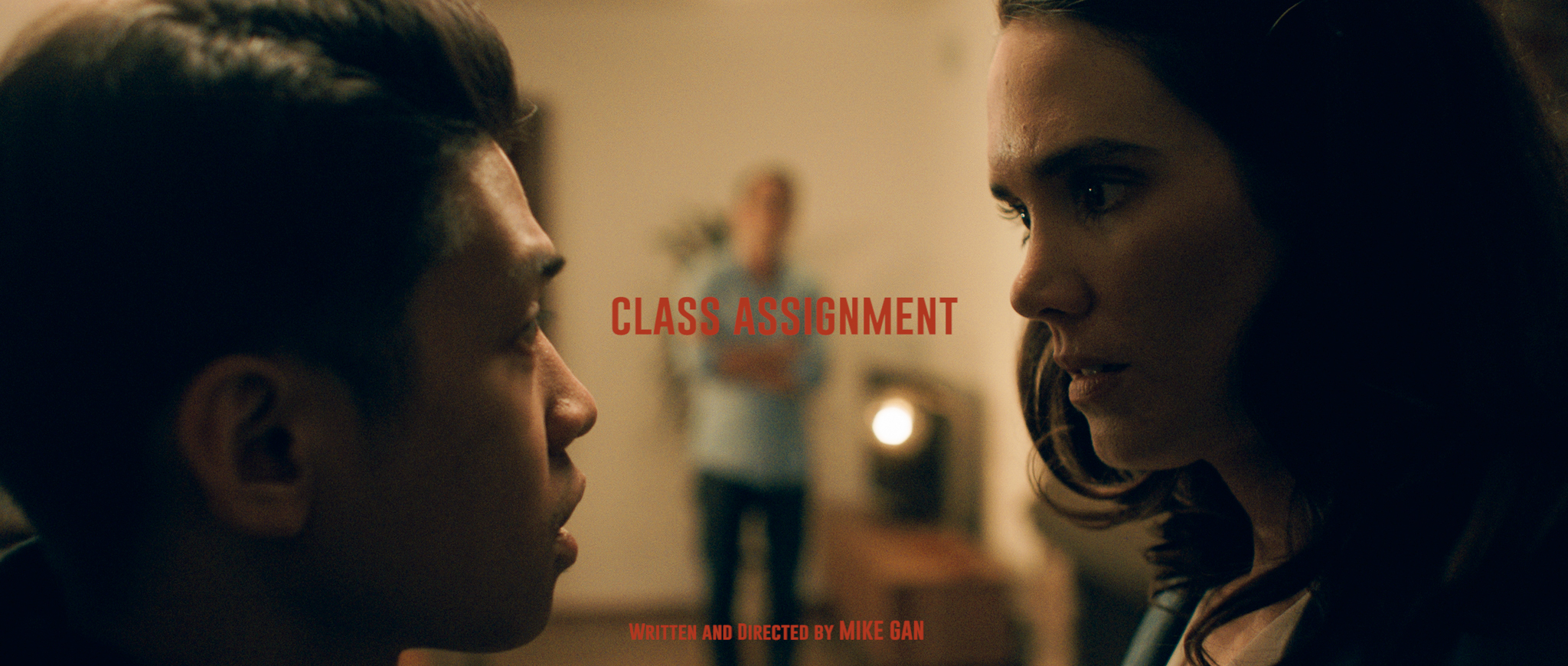 Samantha Smart and Paul Sobrepena in Class Assignment (2018)