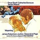 Catherine Deneuve, Omar Sharif, and Fabienne Dali in Mayerling (1968)
