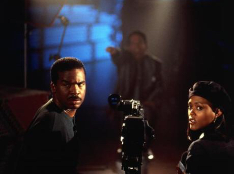 Robin Givens and David Alan Grier in Blankman (1994)