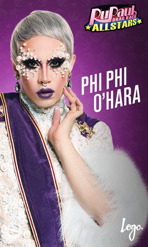 Phi Phi O'Hara in RuPaul's Drag Race All Stars (2012)