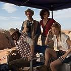 Denis O'Hare, Amir K, Christa Nicola, and Ashley Hinshaw in The Pyramid (2014)