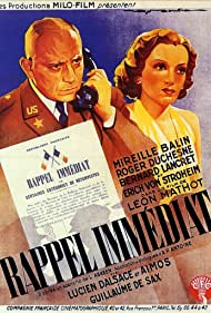 Rappel immédiat (1939)