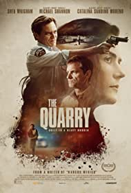 Michael Shannon, Shea Whigham, Catalina Sandino Moreno, and Bobby Soto in The Quarry (2020)