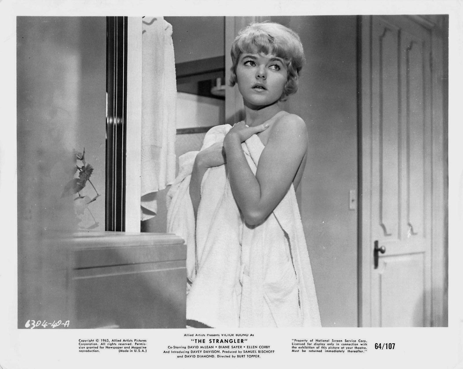 Diane Sayer in The Strangler (1964)