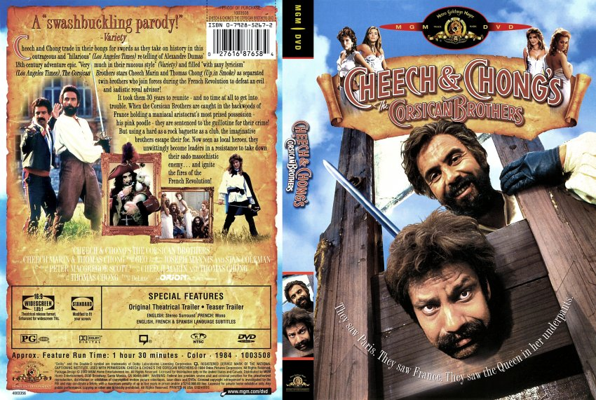 cheech and chongs movies in order