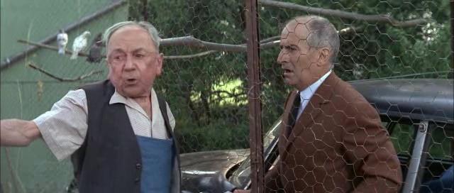 Louis de Funès and Paul Faivre in Les grandes vacances (1967)