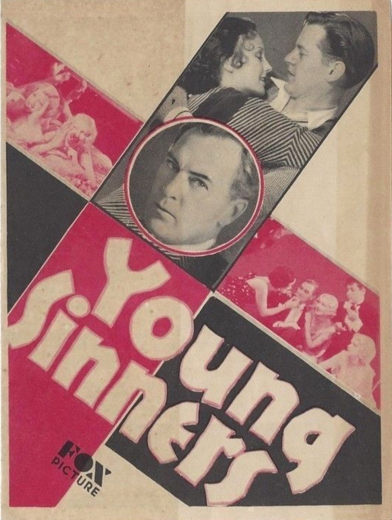 Hardie Albright, Dorothy Jordan, and Thomas Meighan in Young Sinners (1931)