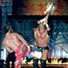 Shawn Michaels and Paul Levesque in WWE Armageddon (2002)