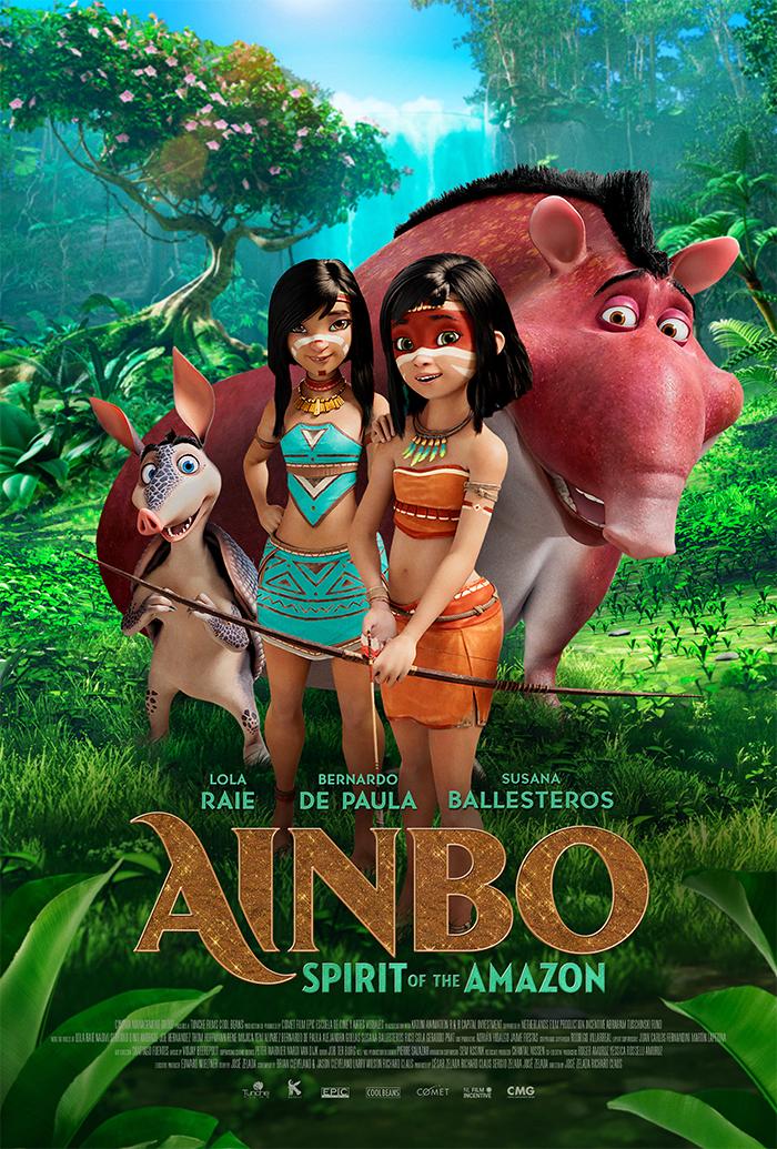 Download Filme Ainbo: A Menina da Amazônia Torrent 2021 Qualidade Hd