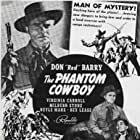 Don 'Red' Barry and Neyle Morrow in The Phantom Cowboy (1941)