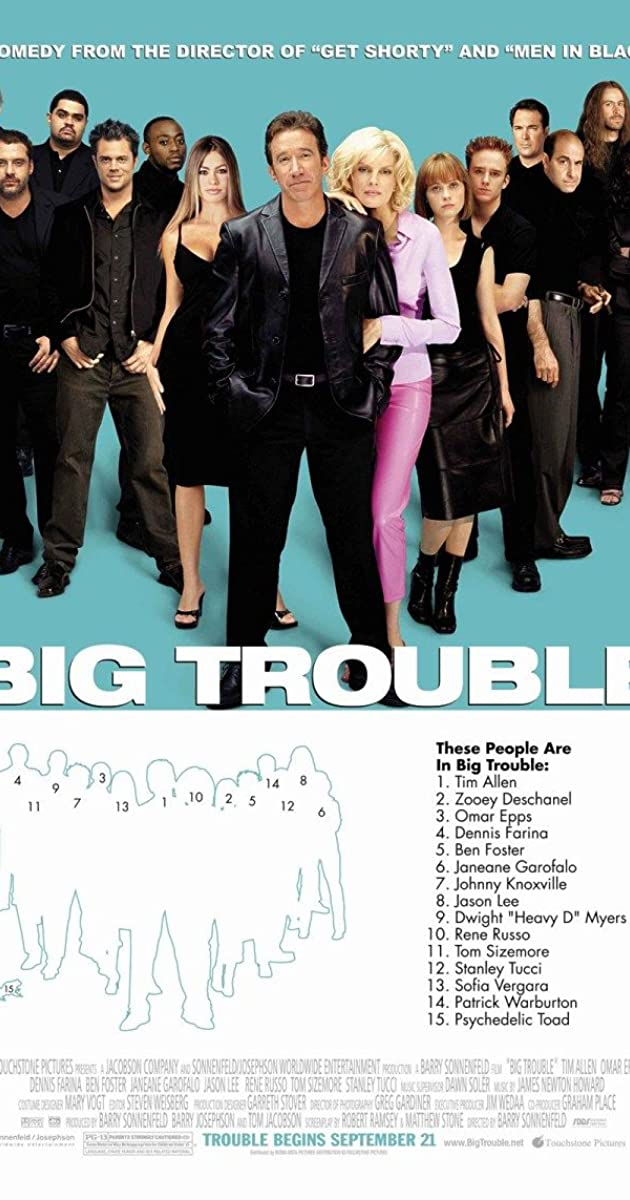 Subtitle of Big Trouble