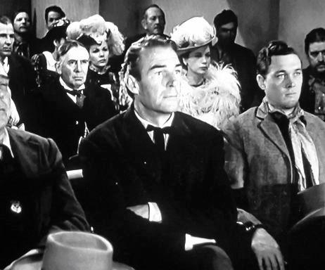 Randolph Scott and Ben Johnson in Badman's Territory (1946)