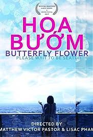 Butterfly Flower Poster