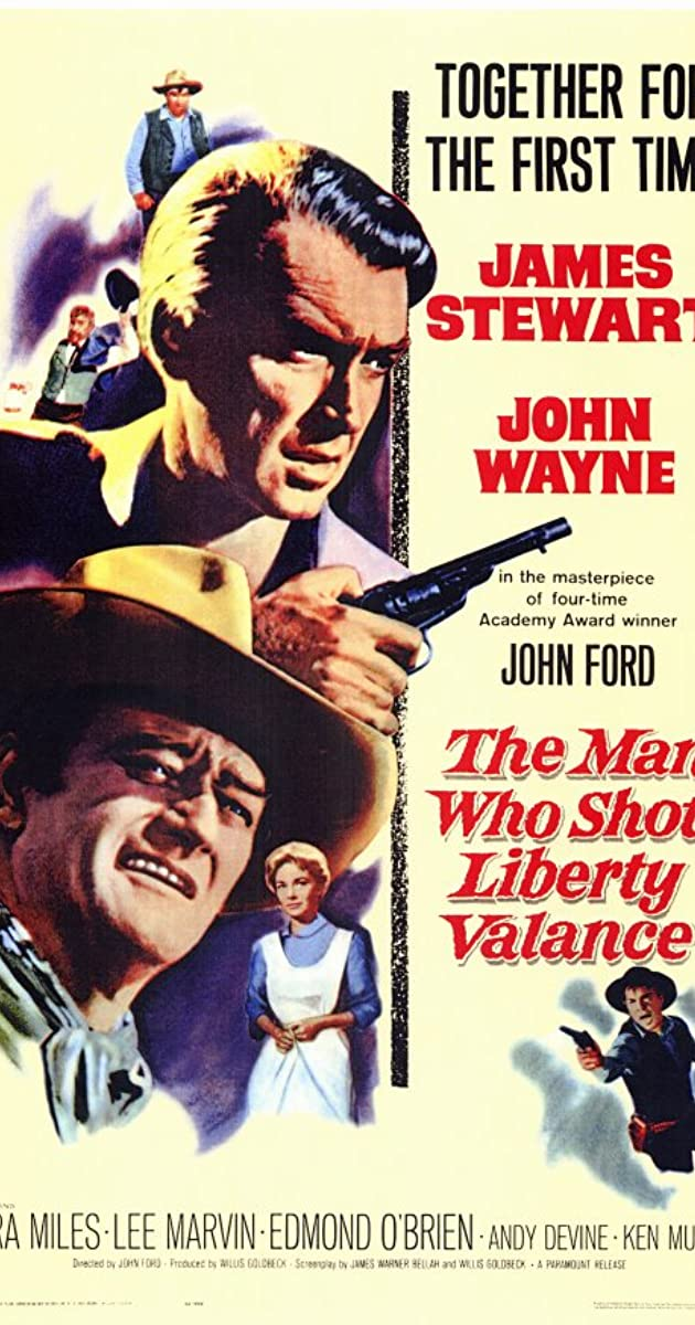 Subtitle of The Man Who Shot Liberty Valance