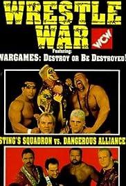 WCW Wrestle War Poster