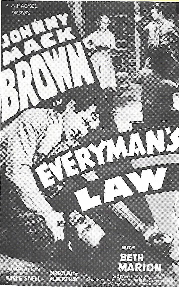 Johnny Mack Brown and Beth Marion in Everyman's Law (1936)