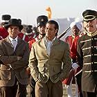 Salman Khan, William Chubb, Sohail Khan, and Armen Grayg in Veer (2010)