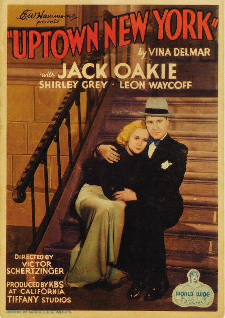 Shirley Grey and Jack Oakie in Uptown New York (1932)