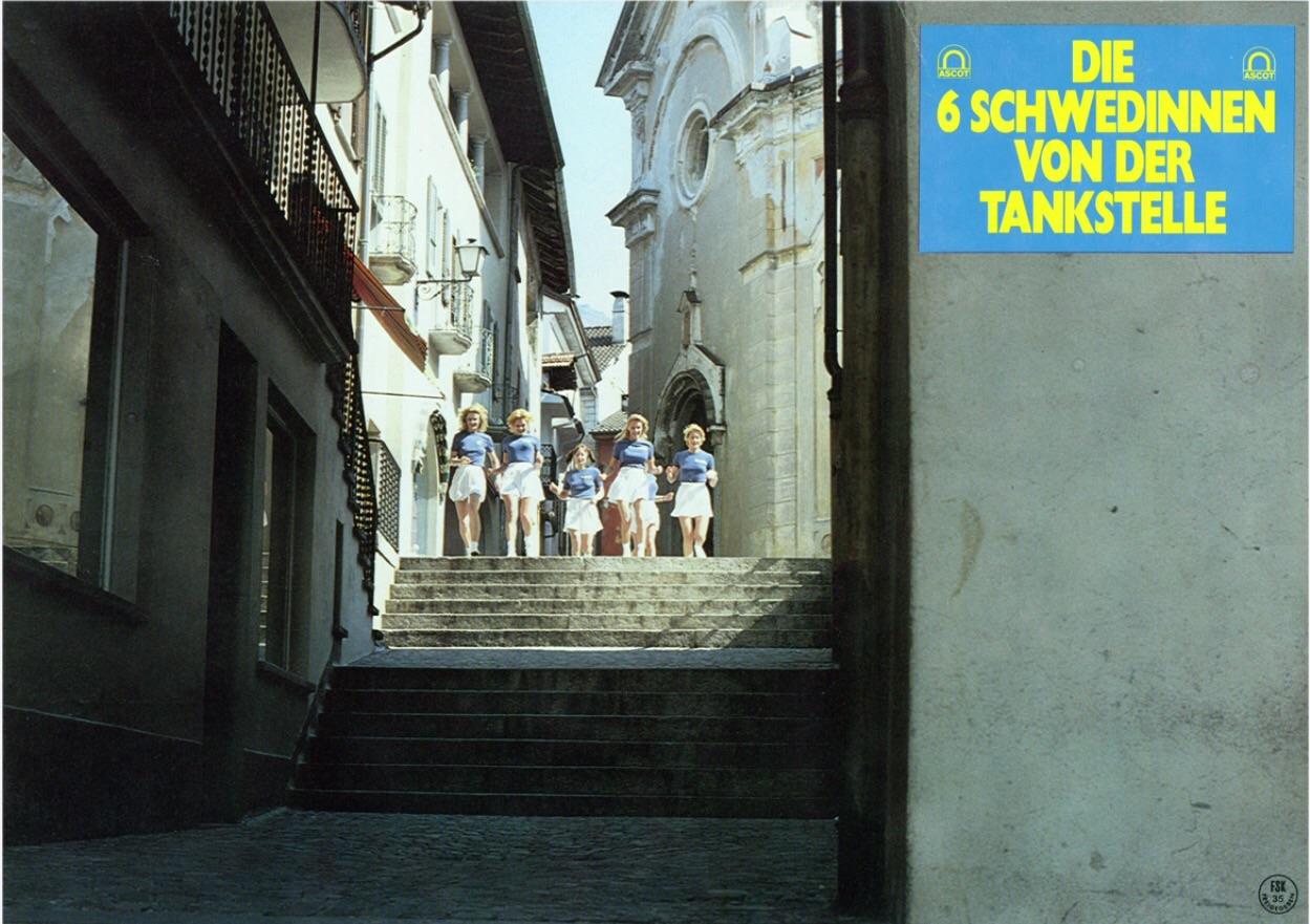 Jane Baker, Brigitte Lahaie, and Nadine Pascal in Sechs Schwedinnen von der Tankstelle (1980)
