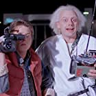 Michael J. Fox and Christopher Lloyd in Back in Time (2015)