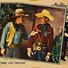 Ken Maynard and Jack Rockwell in Come On, Tarzan (1932)