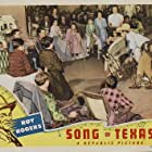 Roy Rogers, Dickie Dillon, and Trigger in Song of Texas (1943)