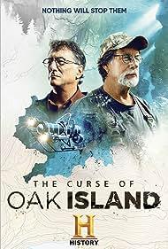 Rick Lagina and Marty Lagina in The Curse of Oak Island (2014)