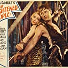 Claudette Colbert and Herbert Marshall in Four Frightened People (1934)