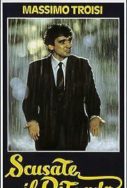 Scusate il ritardo(1983) Poster - Movie Forum, Cast, Reviews