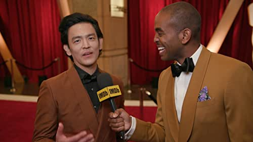 """On the red carpet at the 2020 Oscars, John Cho teases the style of """"Cowboy Bebop,"""" the upcoming live-action adaptation of the wildly popular anime series that's coming to Netflix."""