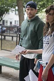 Frankie Shaw, Samara Weaving, and Miguel Gomez in SMILF (2017)