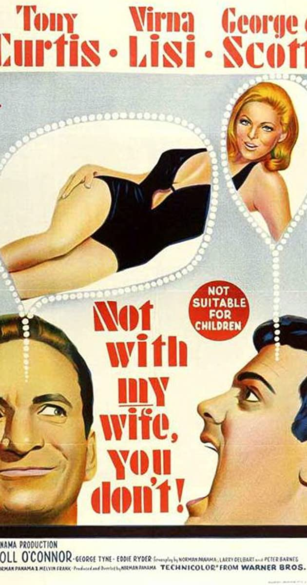 Image result for movie not with my wife you dont