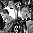 Dirch Passer and Ove Sprogøe in Det var paa Rundetaarn (1955)