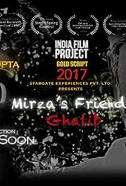 Mirza's Friend Ghalib Poster
