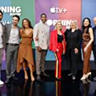 Julianna Margulies, Reese Witherspoon, Mimi Leder, Nestor Carbonell, Desean Terry, Karen Pittman, Hasan Minhaj, and Michael Ellenberg at an event for The Morning Show (2019)