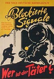 Blockierte Signale Poster