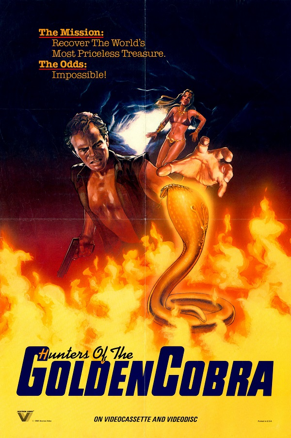 The Hunters of the Golden Cobra (1982) Hindi Dubbed