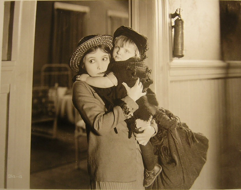 Jackie Combs and Bessie Love in Lovey Mary (1926)