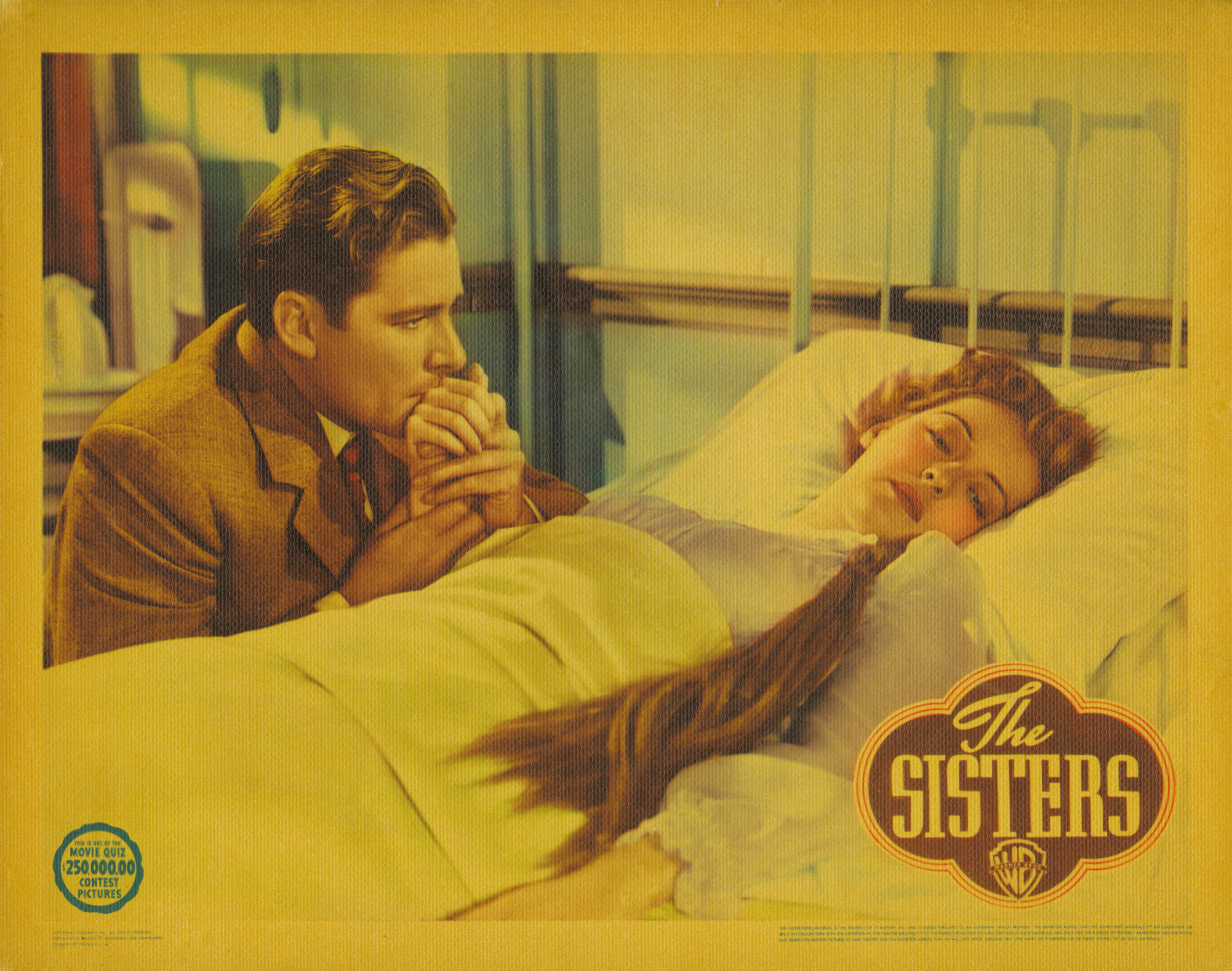 Errol Flynn and Anita Louise in The Sisters (1938)