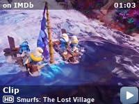 smurfarna den försvunna byn