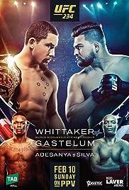 UFC 234: Adesanya vs. Silva Poster
