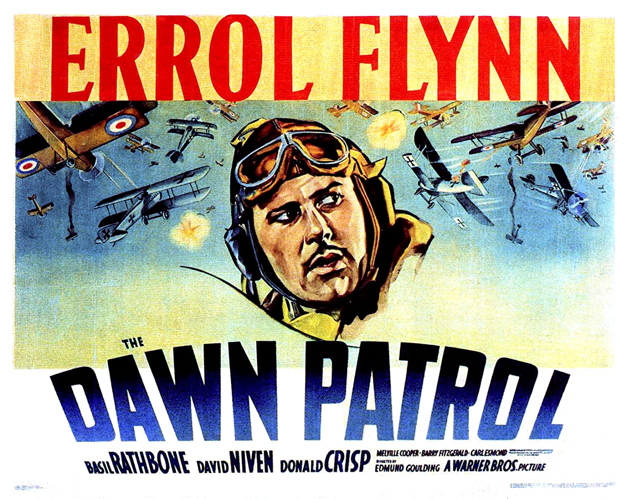 The Dawn Patrol (1938) HD ( Full Film )