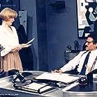 Edith González and Gonzalo Vega in En carne propia (1990)