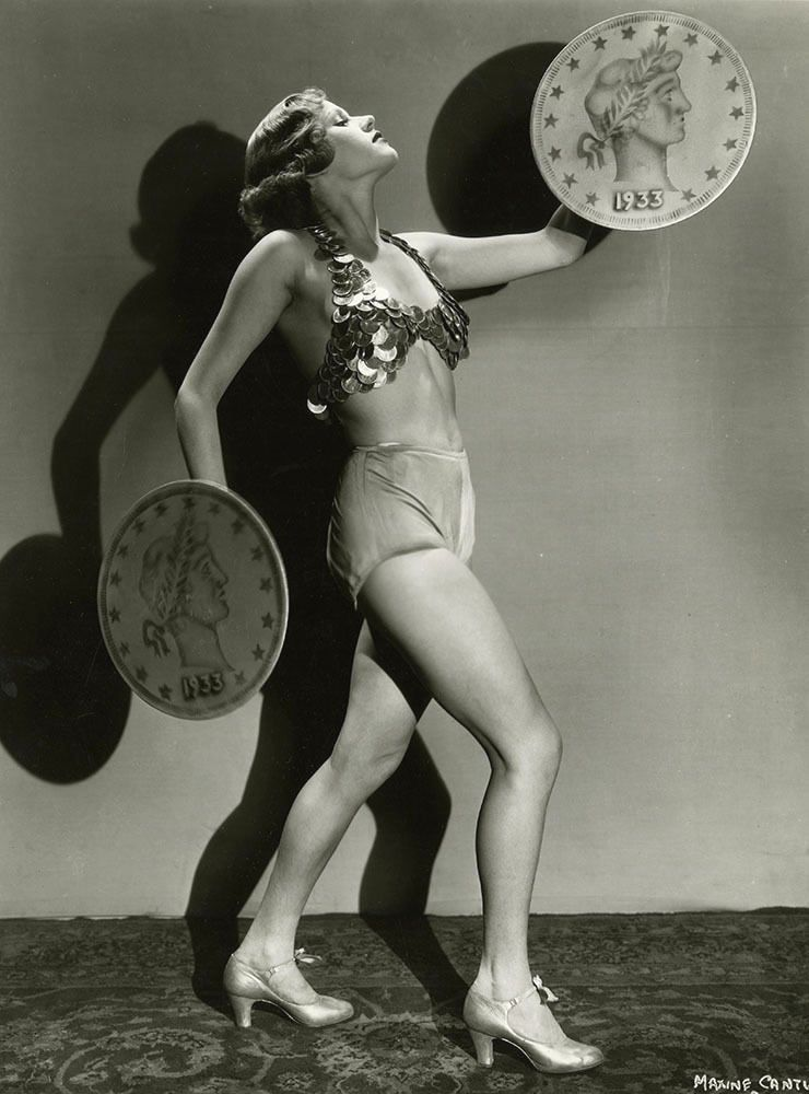 Maxine Cantway in Gold Diggers of 1933 (1933)