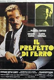 Claudia Cardinale and Giuliano Gemma in Il prefetto di ferro (1977)