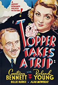 Constance Bennett and Roland Young in Topper Takes a Trip (1938)